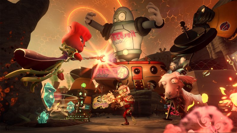Plants Vs. Zombies: Garden Warfare 2 regalerà bonus a chi ha giocato il primo episodio