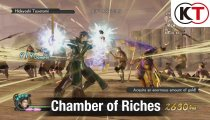 Samurai Warriors 4-II - Gameplay della Chamber of Riches