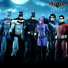 Batman: Arkham Knight - Bat-Family Skin Pack per PlayStation 4