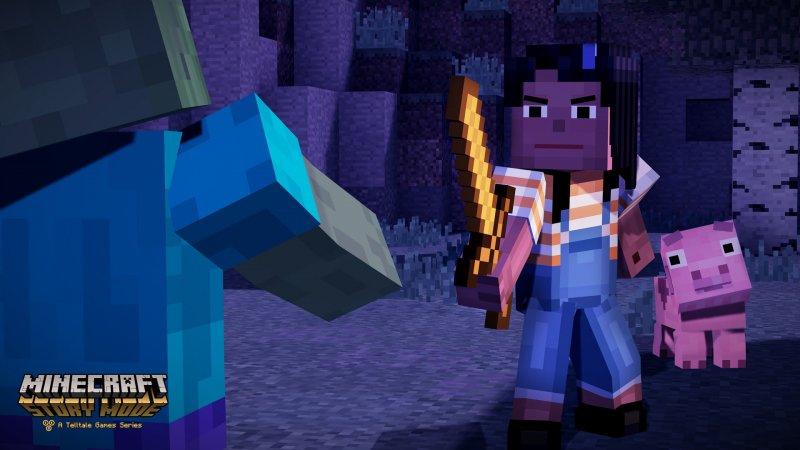 I primi cubi di Minecraft