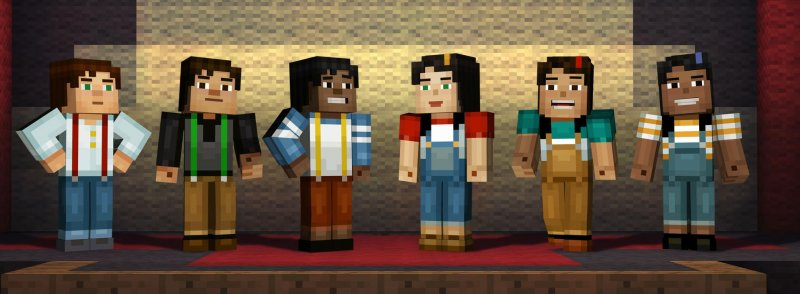 Lo Skin Pack di Minecraft: Story Mode è disponibile in tutte le versioni