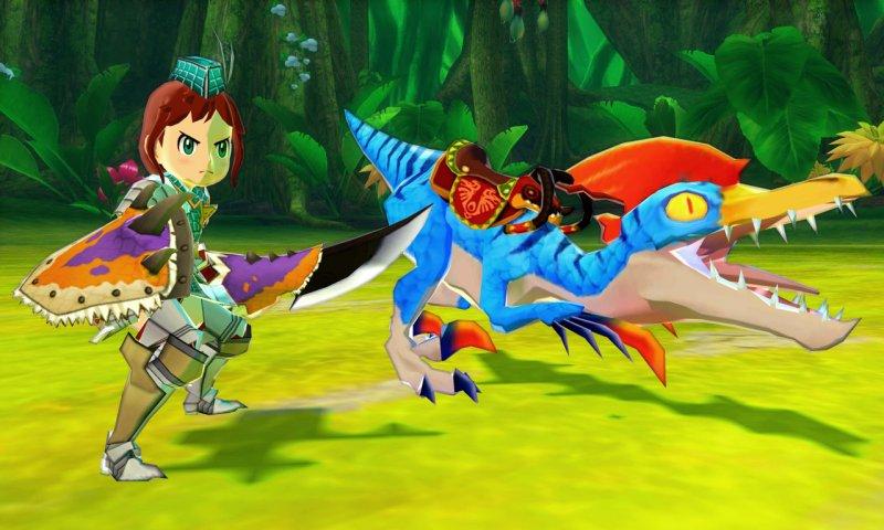 Monster Hunter Stories uscirà in autunno su Nintendo 3DS