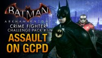 Batman: Arkham Knight - Pacchetto Sfida Combattente del Crimine n.1, gameplay con Batman e Robin