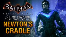 Batman: Arkham Knight - Pacchetto Sfida Combattente del Crimine n.1, gameplay con Nightwing