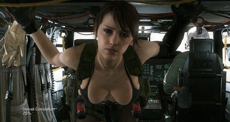 Scopriamo tutte le animazioni di Quiet in Metal Gear Solid V: The Phantom Pain