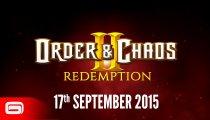 Order & Chaos II: Redemption - Trailer di pre-lancio