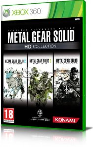 Metal Gear Solid HD Collection per Xbox 360