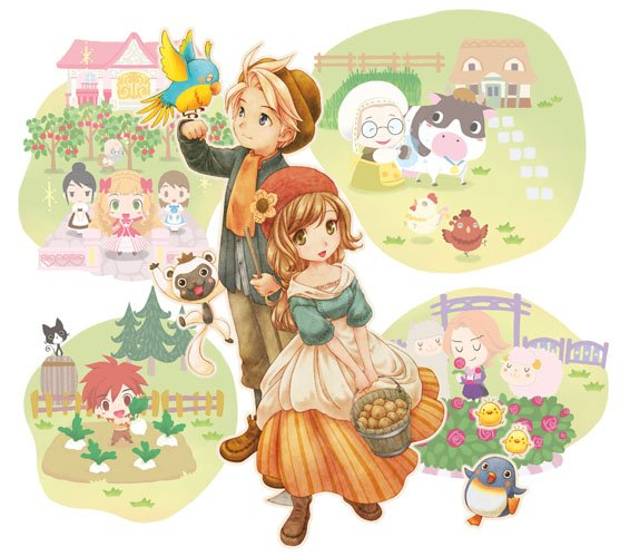 Anche scapoli e nubili in Story of Seasons