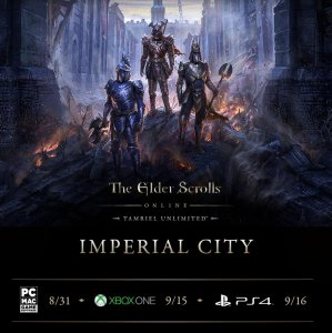 The Elder Scrolls Online: Tamriel Unlimited - Imperial City per PC Windows