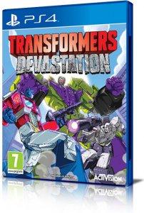 Transformers: Devastation per PlayStation 4