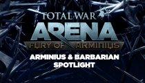 Total War: ARENA - Video su Arminio e Barbari