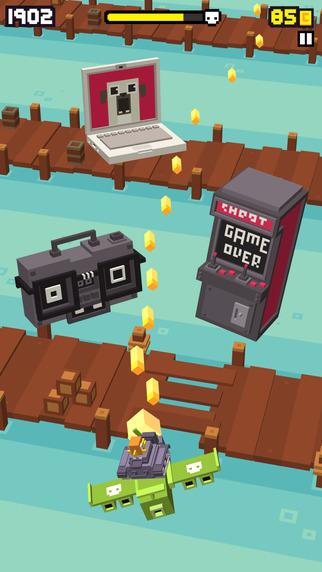 Shooty Skies - Endless Arcade Flyer