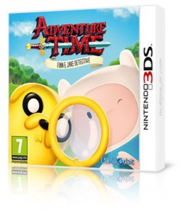 Adventure Time: Finn e Jake Detective per Nintendo 3DS