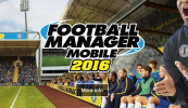 Football Manager Mobile 2016 per iPad