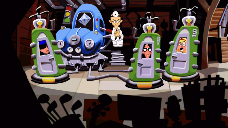 Disponibile da oggi Day of the Tentacle Remastered