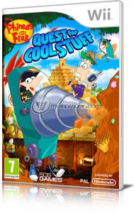 Phineas and Ferb: Quest for Cool Stuff per Nintendo Wii