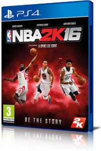 NBA 2K16 per PlayStation 4