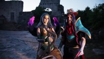 Hydra&Sylesia Cosplay - Twisted Fate e Diana