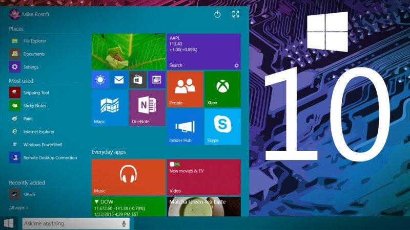 Scade oggi l'aggiornamento gratuito a Windows 10