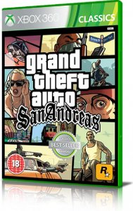 Grand Theft Auto: San Andreas per Xbox 360