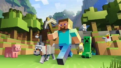 Minecraft, new record: 140 million active users per month, says Microsoft