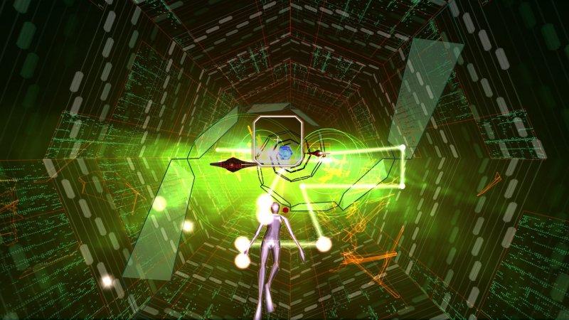 Rez Infinite a 4K e 60 frame al secondo su PlayStation 4 Pro, ma solo per i contenuti originali