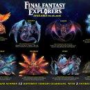 Un'infografica presenta i dodici Eidolon di Final Fantasy Explorers