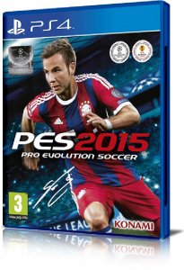 Pro Evolution Soccer 2015 (PES 2015) per PlayStation 4
