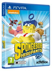 SpongeBob HeroPants per PlayStation Vita