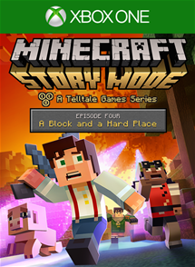 Minecraft: Story Mode - Episode 4: A Block and a Hard Place per Xbox One