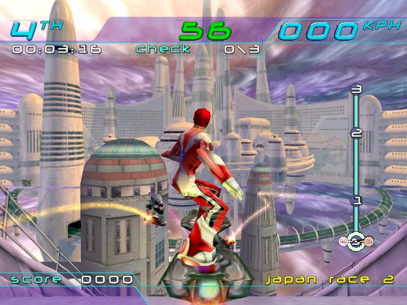 I motori fisici sono gli stessi dei tempi del Dreamcast