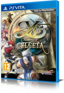 Ys: Memories of Celceta per PlayStation Vita