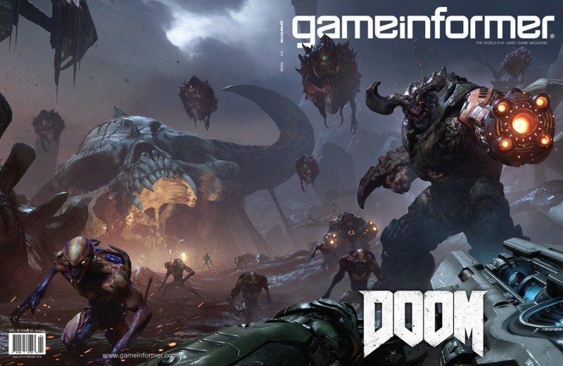 C'è DOOM sulla copertina del numero di febbraio di Game Informer
