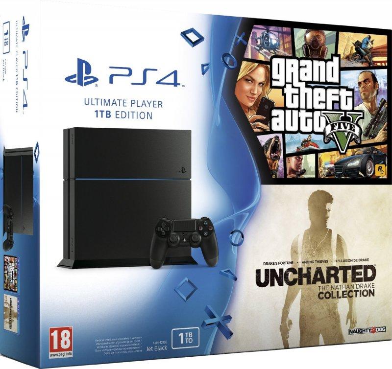 Un nuovo bundle PlayStation 4 da 1 TB con Grand Theft Auto V e Uncharted: The Nathan Drake Collection