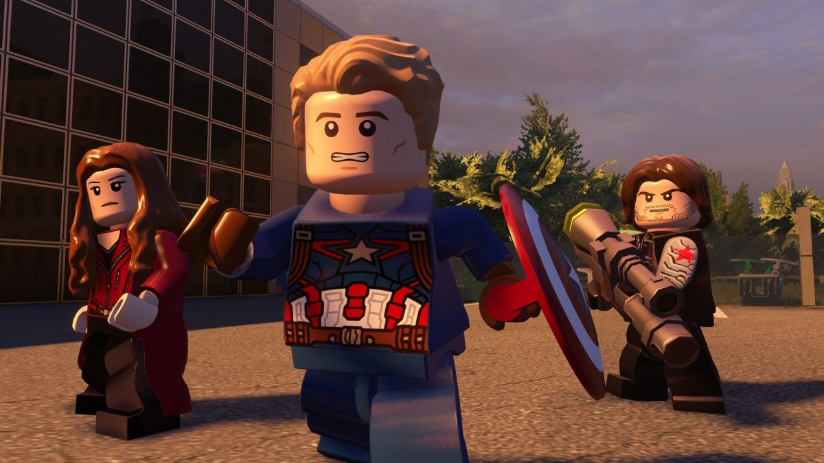 lego marvel avengers ps4 gameplay