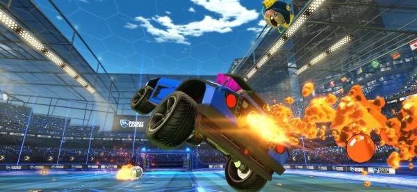 Il cross-network play di Rocket League inizierà oggi