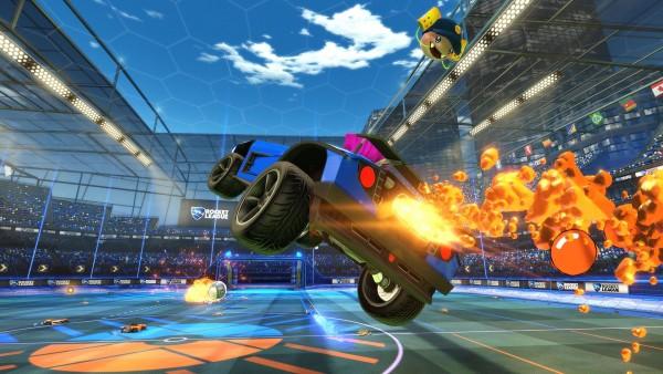 DLC a tema Sunset Overdrive per la versione Xbox One di Rocket League