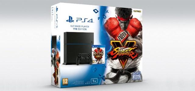 Un nuovo bundle PlayStation 4 con Street Fighter V per l'Europa