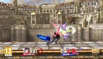 Super Smash Bros. - Bayonetta vs. Corrin gameplay