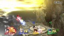Super Smash Bros. - La modalità 4 giocatori nella Umbra Clock Tower