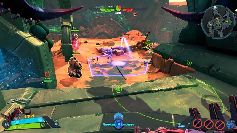 Battleborn funziona solo online