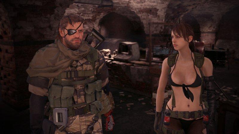 Una mod di Fallout 4 introduce in gioco i modelli di Metal Gear Solid V: The Phantom Pain