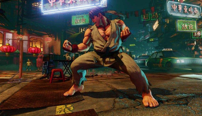 Disponibile il preload di Street Fighter V su Steam