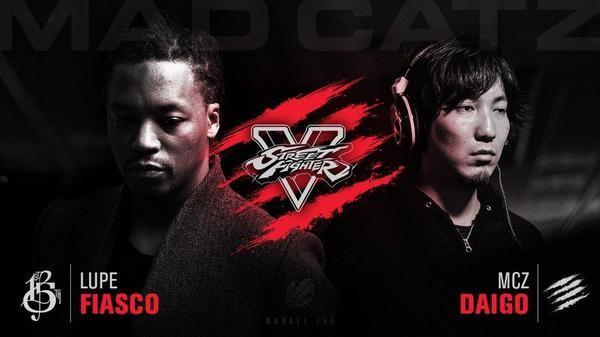 Per festeggiare il lancio di Street Fighter V, Capcom propone un match tra Lupe Fiasco e Daigo Umehara
