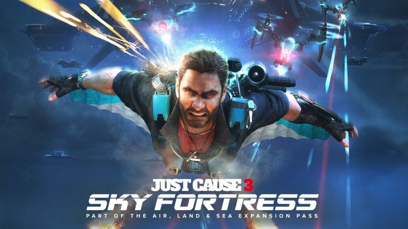 Il DLC Sky Fortress è disponibile da oggi per i possessori del Season Pass di Just Cause 3