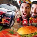 Salvatore vi attende in tuta alle 14 per il pranzo con Sébastien Loeb Rally EVO