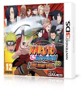 Naruto Shippuden 3D: The New Era per Nintendo 3DS