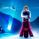 Snowboard e tori rossi