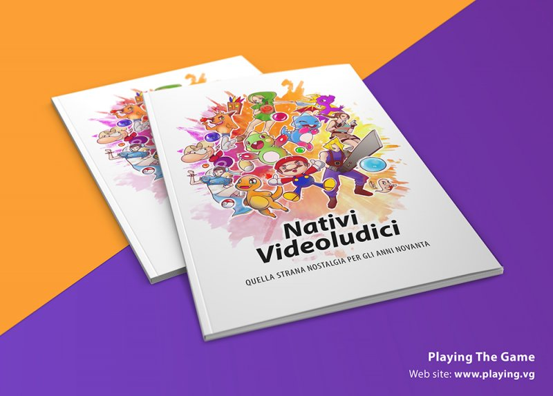 """Disponibile il libro """"Nativi Videoludici"""", dedicato a chi negli anni '90 già videogiocava"""