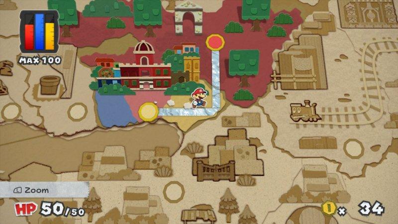 Paper Mario: Color Splash - Voci dal Sottobosco
